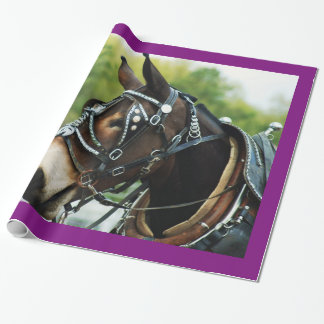 mule days wrapping paper