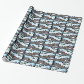 Mule Deer art photography Wrapping Paper
