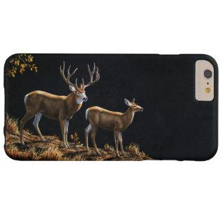Mule Deer Buck & Doe Barely There iPhone 6 Plus Case