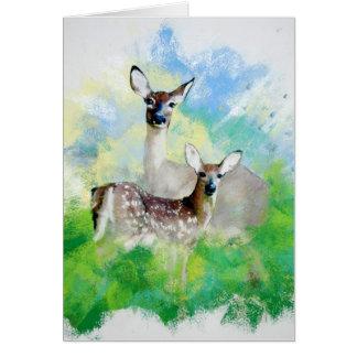 Mule Deer Card
