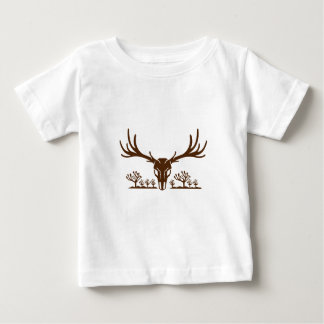 Mule Deer Skull Joshua Tree Icon Baby T-Shirt