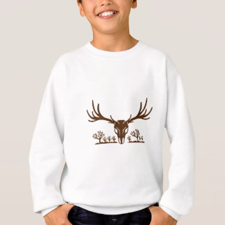 Mule Deer Skull Joshua Tree Icon Sweatshirt