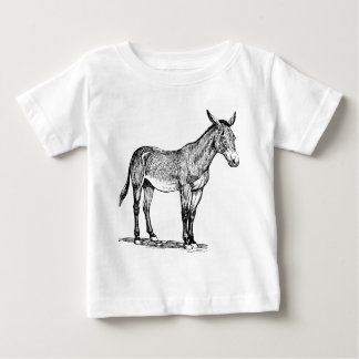 Mule Drawing, Stubborn Baby T-Shirt