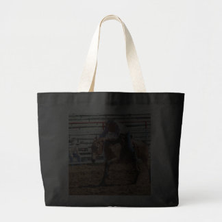 mule in pole bending class tote bags