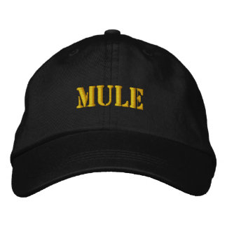MULES EMBROIDERED HAT
