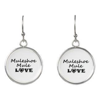 Muleshoe Mule Love Earrings