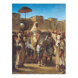 Muley Abd-ar-Rhaman , The Sultan of Morocco Postcard