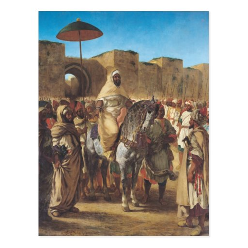 Muley Abd-ar-Rhaman , The Sultan of Morocco Post Card