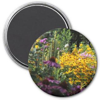 Mullein Black Eyed Susans Echinacea Magnet