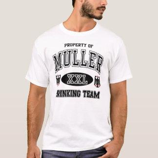 Muller German Drinking Team t shirt