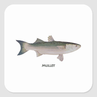 Mullet Logo Square Sticker