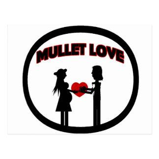 Mullet Love Postcard
