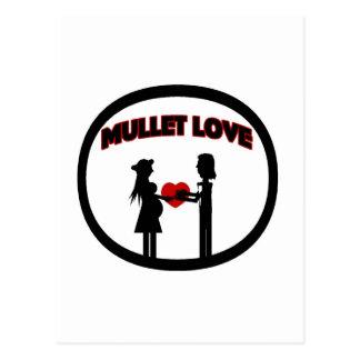 Mullet Love Post Card