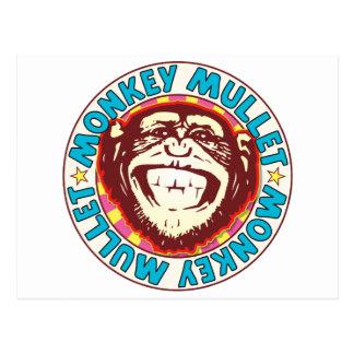 Mullet Monkey Postcard