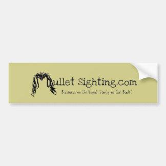 Mullet Sighting (.com) Bumper Sticker
