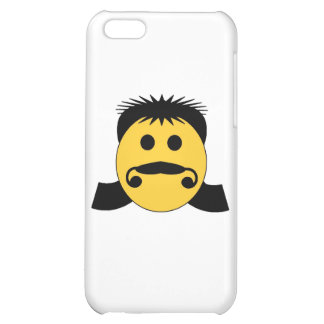 Mullet Smiley iPhone 5C Cases