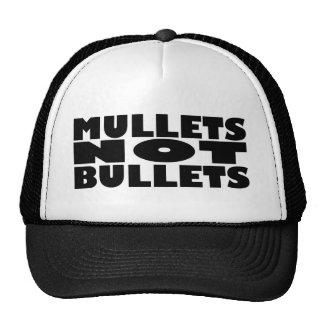 Mullets not bullets trucker hats