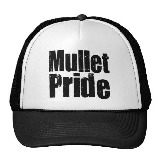 Mullets Rule Mesh Hat
