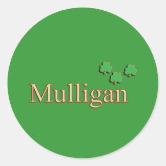 Mulligan Family Sticker