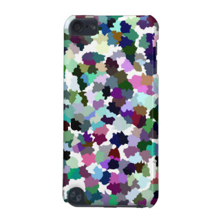 Multi-Color Abstract Crystal Pattern iPod Touch (5th Generation) Covers