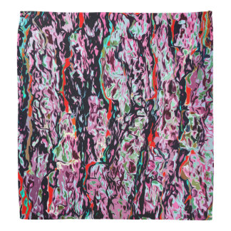 Multi-Color Abstract Pattern Bandana