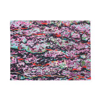 Multi-Color Abstract Pattern Doormat