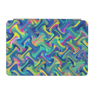 Multi-Color Abstract Pattern iPad Mini Cover