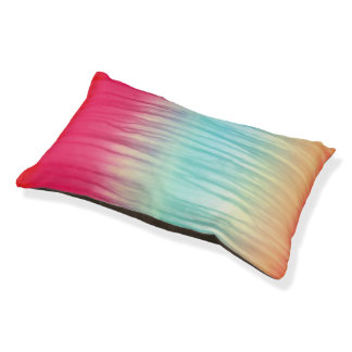 Multi-Color Abstract Pattern Pet Bed