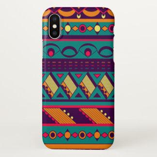 Multi Color African Design iPhone X Case