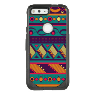 Multi Color African Design OtterBox Commuter Google Pixel Case
