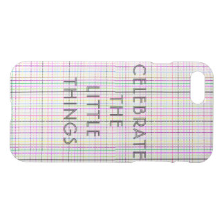 MULTI-COLOR AND MOTIVATIONAL iPhone CASE