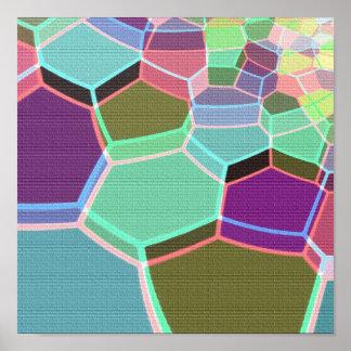 Multi Color Brick Canvas Print