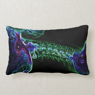 Multi-color C-spine toss pillow (small) Cushion