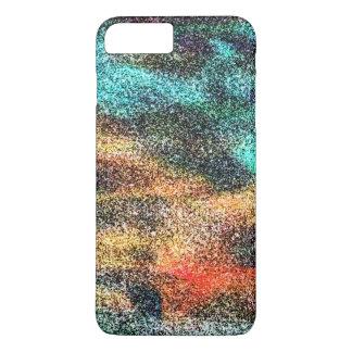 Multi-color calico design. iPhone 8 plus/7 plus case
