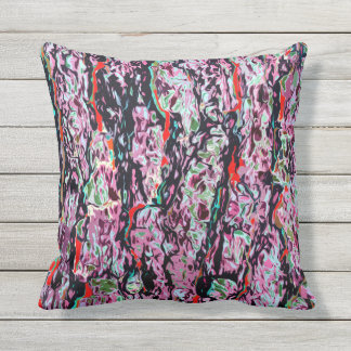 Multi-Color Chic Abstract Pattern Outdoor Cushion