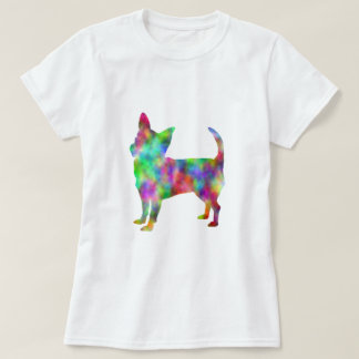 Multi Color Chihuahua Apparel T-Shirt