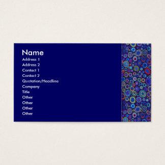 Multi-Color Circles Profile Card