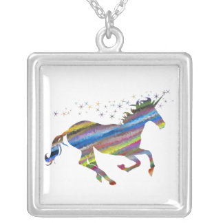 Multi-Color Colorful Unicorn Necklace