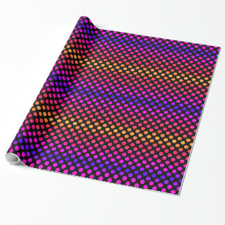 Multi-color Dots Wrapping Paper