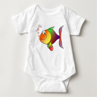 Multi-color Goldfish Bodysuit Shirt