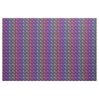 Multi-color Hexagon Cotton Fabric
