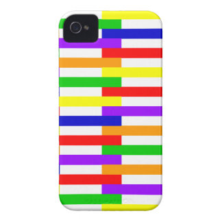 Multi-color Line Design Case-Mate iPhone 4 Case