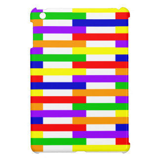 Multi-color Line Design iPad Mini Cover