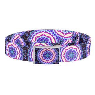 Multi-color mandala pattern Thunder_Cove Belt