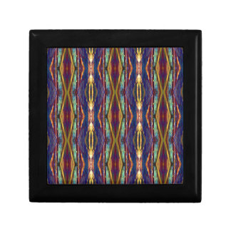 Multi-Color Masculine Tribal Pattern Gift Box