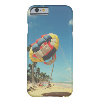 Multi-Color Parasail on Florida Beach Sand Barely There iPhone 6 Case