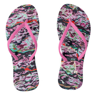 Multi-Color  Pattern Thongs