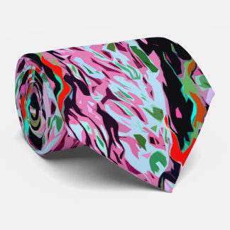 Multi-Color Pattern Tie