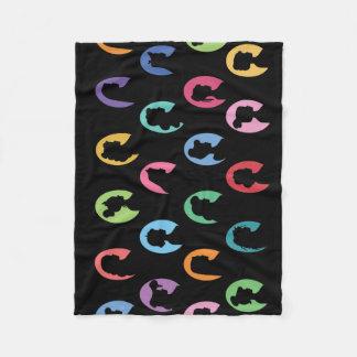 Multi-Color Princess Blanket