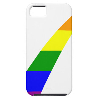 Multi-Color Rainbow Check Mark iPhone 5 Cases